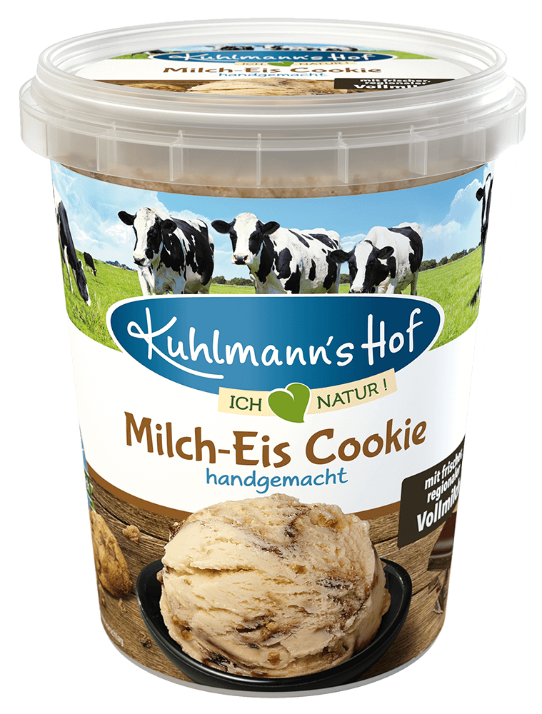 Milch-Eis Cookie