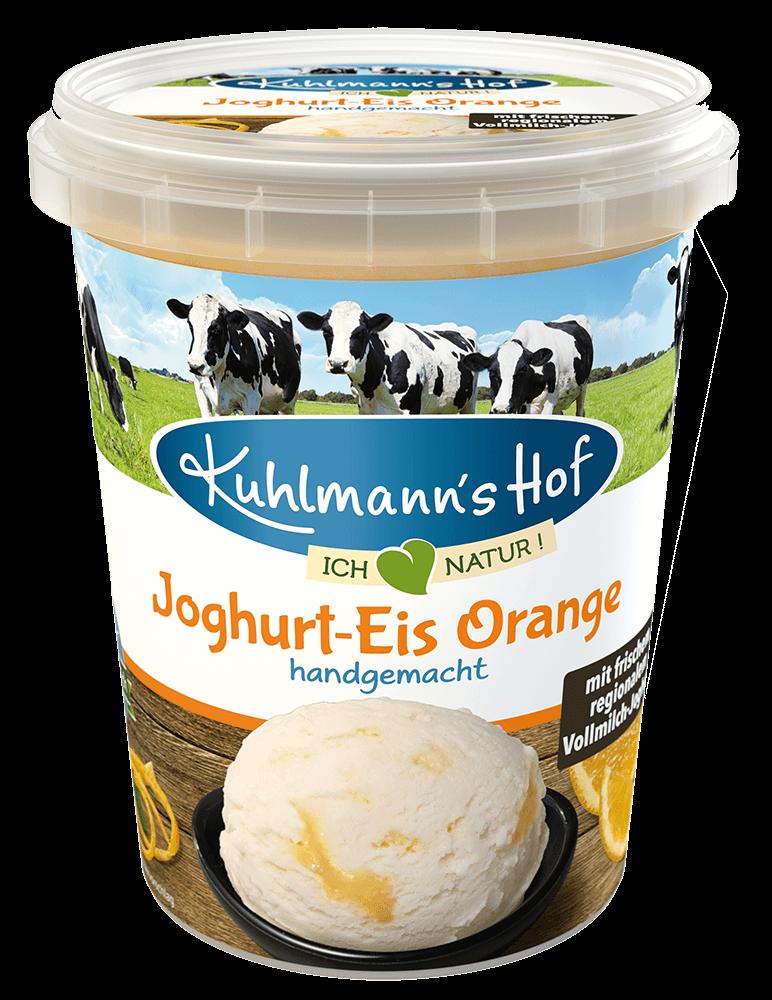 Joghurt-Eis Orange