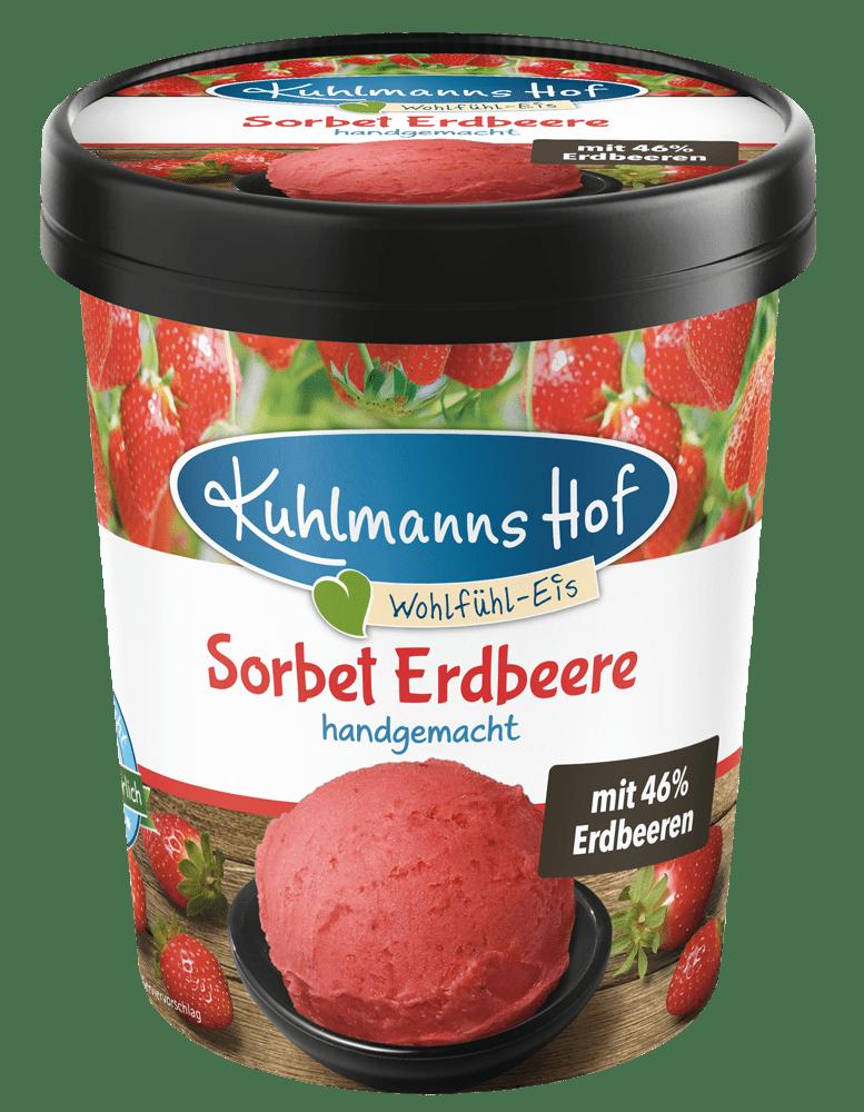 Sorbet Erdbeere