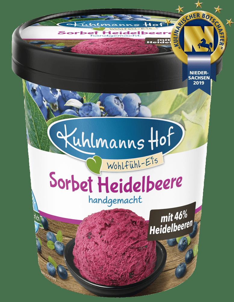 Sorbet Heidelbeere
