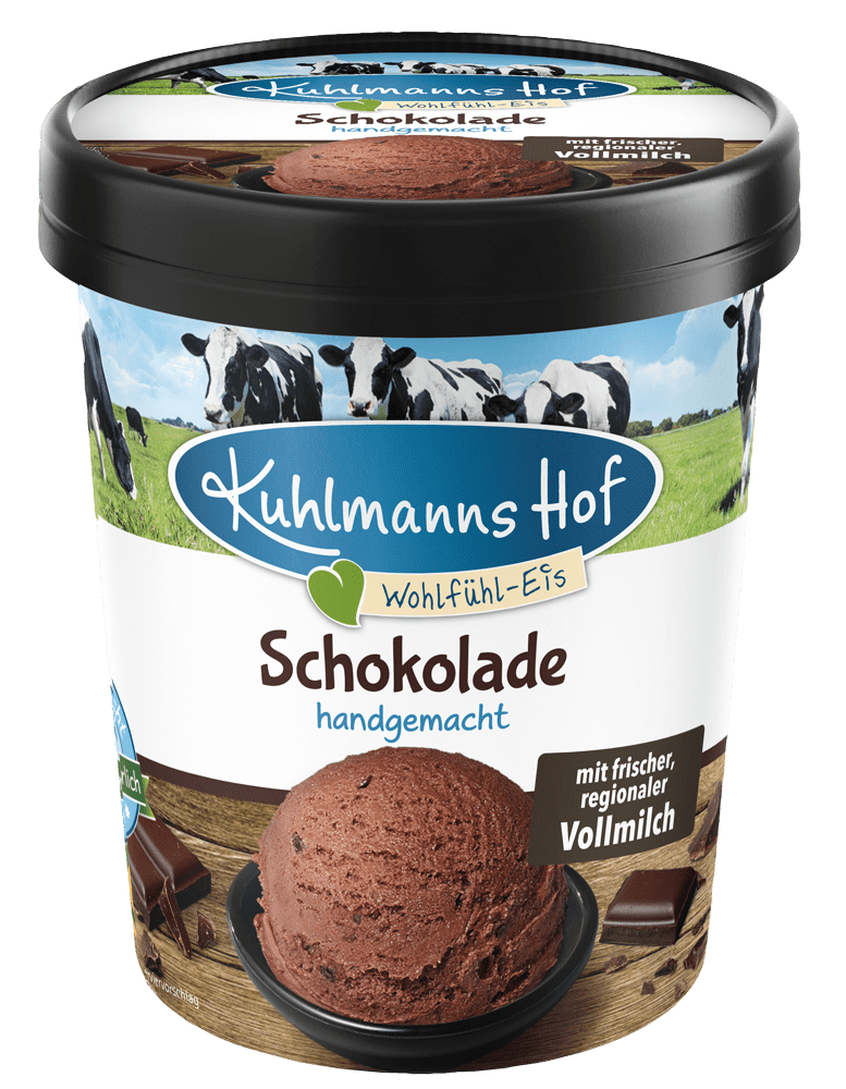 Milch-Eis Schokolade