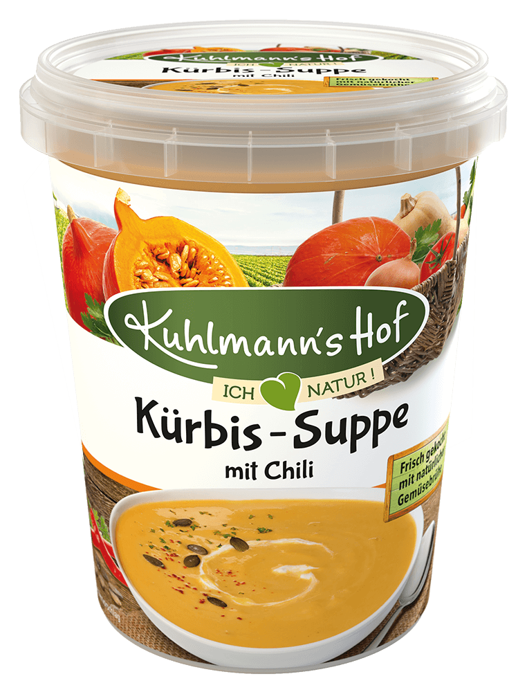 Kürbis-Suppe mit Chili