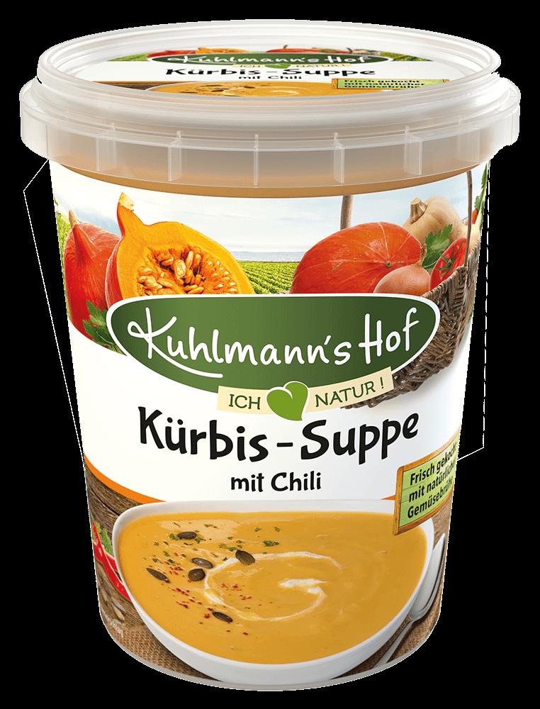 Kürbis-Suppe mit Chili