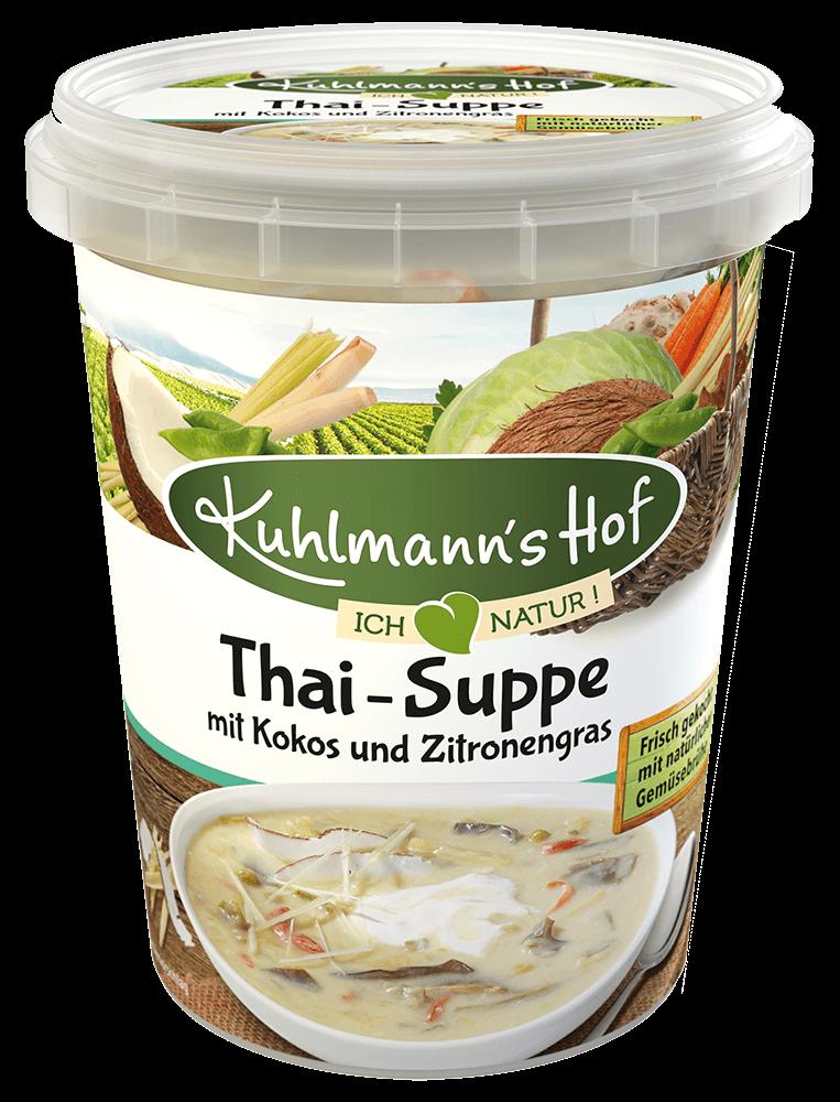 Thai-Suppe mit Kokos und Zitronengras